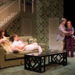 One Slight Hitch 2013 with Dakota Shepard (Courtney Coleman), Brenda Meaney (Melanie Coleman), Mark Linn-Baker (Doc Coleman) and Laura Ashley Carter (P.B. Coleman). Photo by Michael and Suz Karchmer