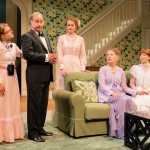 One Slight Hitch 2013 with Laura Ashley Carter (P.B. Coleman), Mark Linn-Baker (Doc Coleman), Brenda Meaney (Melanie Coleman), Lizbeth Mackay (Delia Coleman) and Dakota Shepard (Courtney Coleman). Photo by Michael and Suz Karchmer