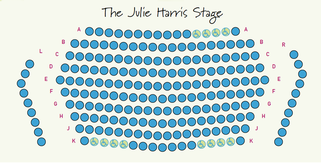 Wellfleet Harbor Actors Theater seating chart